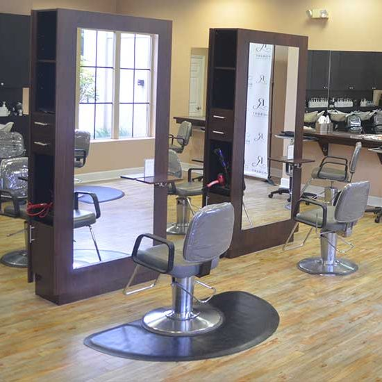 Inside Robert of Philadelphia Profession Hair Salon located in Bonita Springs, Florida Promenade